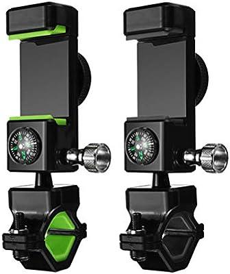 Hemobllo Soporte para Teléfono Móvil con Luz LED y Brújula ...