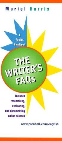 Writer's FAQs, The: A Pocket Handbook (College Version)