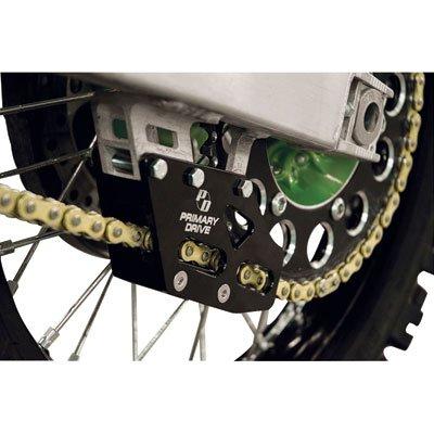Primary Drive Rear Chain Guide Black - Fits: Kawasaki KX250F (Rear Drive Chain)