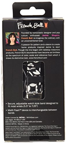French Bull - Misfit Flash Replacement Band, Misfit Flash Wristband, Misfit Flash Accessory Band (Vine Black)