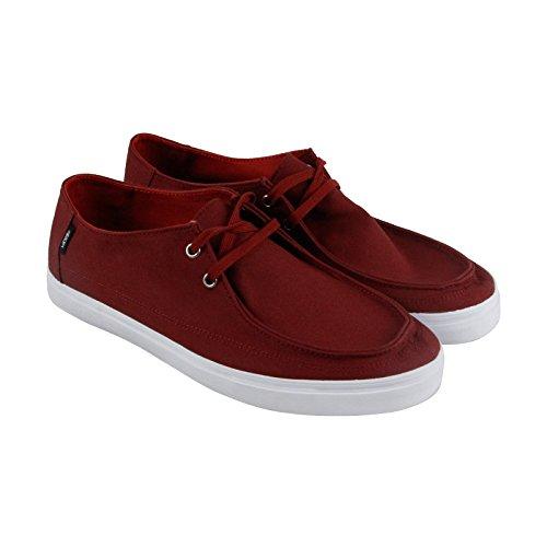 Vans Rata Vulc SF Mens Brown Canvas Casual Dress Lace Up Boat Shoes Shoes 12