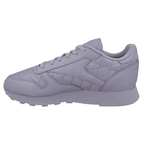 Classic Leather Sneaker Damen Purple Quilted Reebok Lila pfwCgqxFU