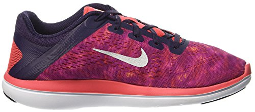 Nike Mädchen 845029-502 Trail Runnins Sneakers aubergine/orange