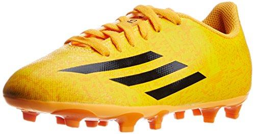 best service ea8a2 0bb6c naranja Fútbol Niños Adidas Amarillo Botas Leo F5 Leva Fg Zapatos De Messi  w8qPIn8xF
