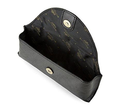 WITTCHEN caso, Nero, Dimensione: 7.5x17 cm - Materiale: Pelle di grano - 21-2-227-1