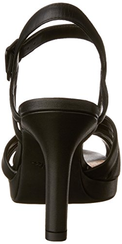 Poppy Black Sandal 9 Women's CLARKS Leather 5 New Mayra tqBq7xOw