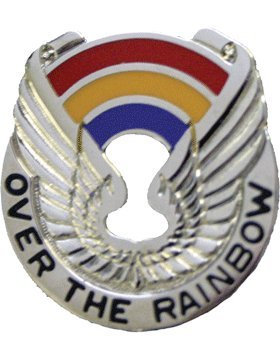 - 142nd Aviation Unit Crest (Over The Rainbow)