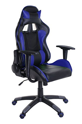 4114Y4YhRyL - Adjustable-Reclining-Racing-Gaming-Chair-with-Backrest-Removable-Headrest-Pillow-and-Lumbar-Cushion-Free-Ebook