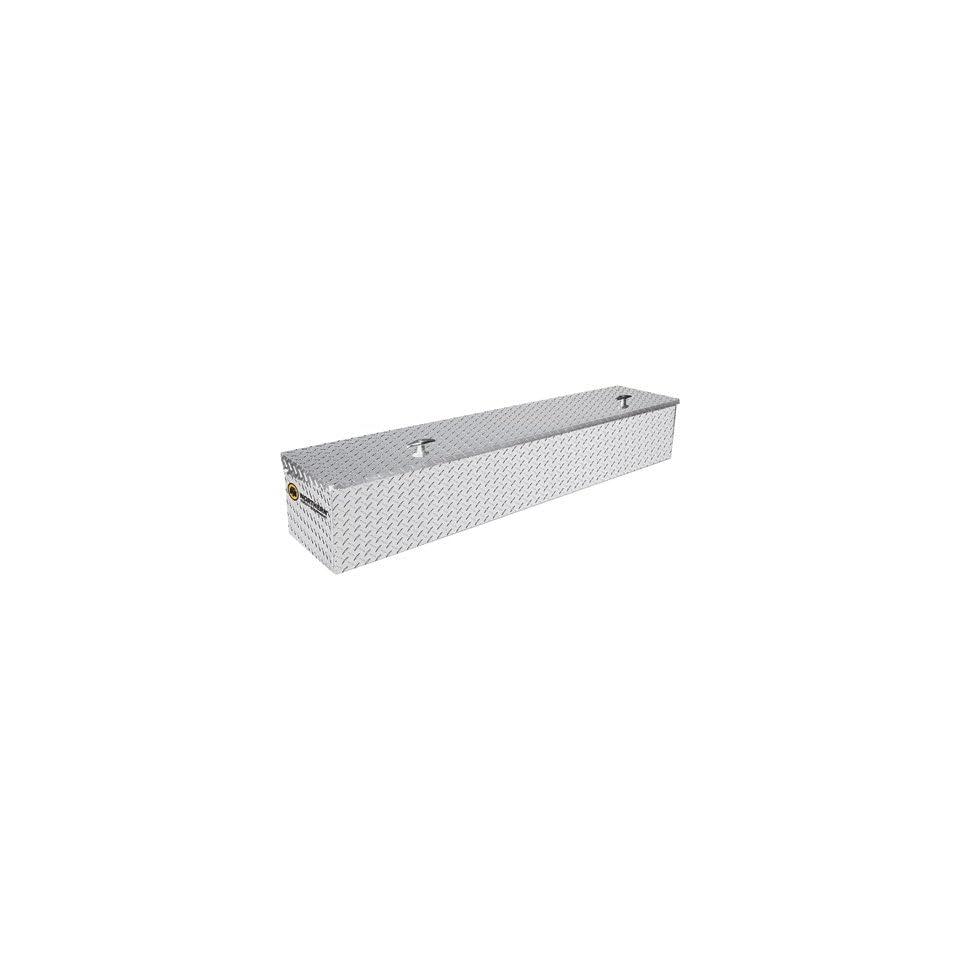 Locking Aluminum Side Mount Truck Box   Diamond Plate, 48in.L x 12 1/4in.W x 12in.H
