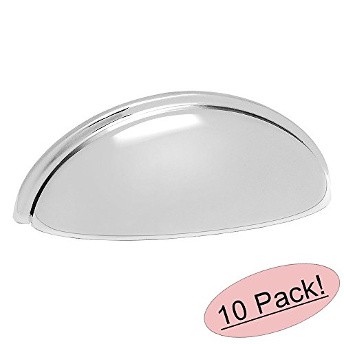 Polished Chrome Drawer Pull - 4