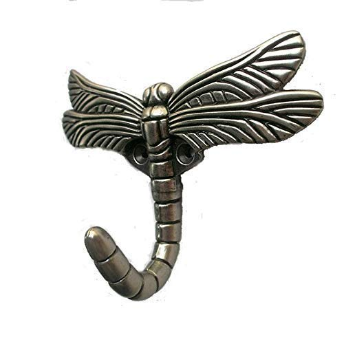 DIY Décor Hub-Set of 6 Dragonfly Hooks (Wall Hanging Dragonfly)