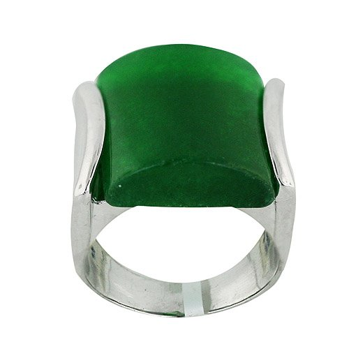 Jade Square Ring - 1