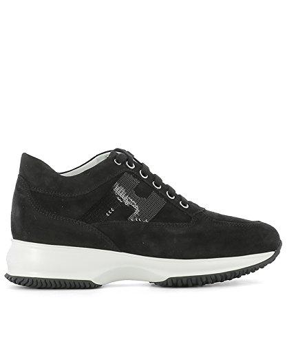 Negro Zapatillas HXW00N05641CR0B999 Hogan Cuero Mujer 7qSTRT