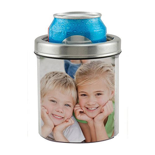 Thermo-Temp Stainless Steel Photo Can Koozie (Thermo Photo)