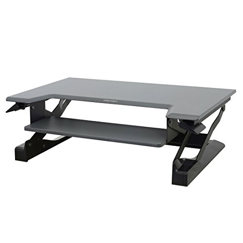 Ergotron WorkFit T Sit Stand Converter Tabletops