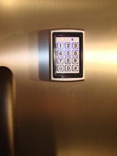 Keyless Refrigerator Lock System for a Single Door by SecureRefrig
