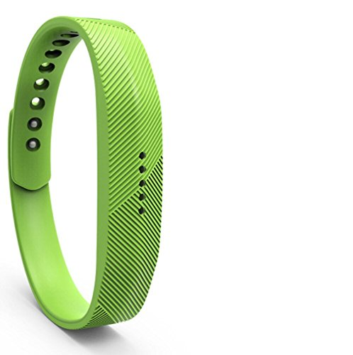 PEZAX Replacement Band for Fitbit Flex 2 - Green