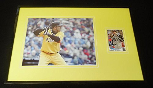Signed Aramis Ramirez Photo - Framed 11x17 Display - Autographed MLB (Aramis Ramirez Photograph)