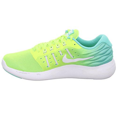 Nike Womens Lunarstelos Scarpa Da Corsa Volt / Bianco / Giada Chiara