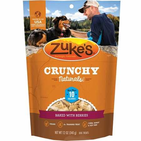Zuke'S Skinny Bakes Dog Treats, Cherry And Berry, 10-Calories, 12-Ounce