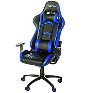 Amazon Com Merax Racing Style Pu Leather Office Chair 180