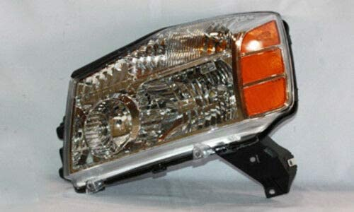 TYC 20-6519-00-1 Nissan Right Replacement Head Lamp