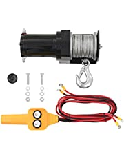vidaXL Cabrestante Control Remoto de Cable Mando a Distancia de Alambre 12 V Torno eléctrico 907 KG