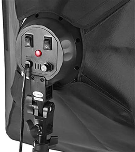 MDFGHJD Softbox E27 Lamp Holder Socket Soft Cloth for Photography Studio Lighting Photographic Equipment for Canon Nikon