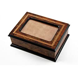 Handcrafted Contemporary Italian Picture Photo Frame Music Jewelry Box - You Are the Sunshine of My Life