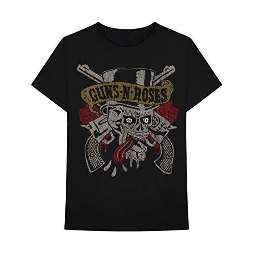 - T-Shirt - Guns N Roses - Tongue Skull
