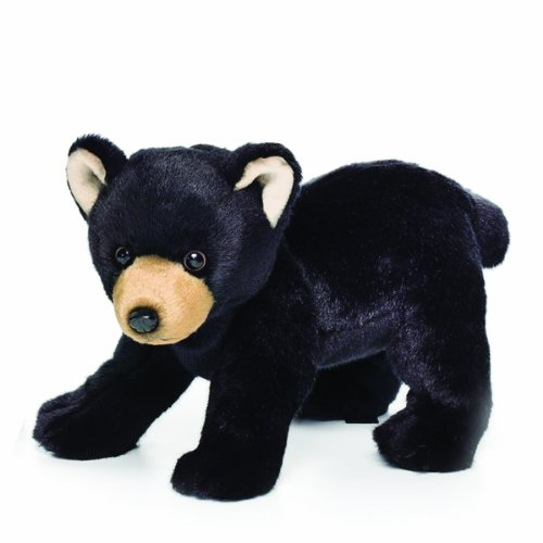 Large Plush Bear (Nat and Jules Black Bear Plush Toy, Large)