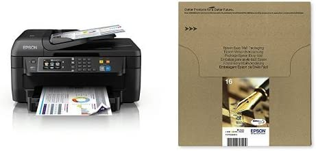 Epson WorkForce WF-2760DWF - Impresora multifunción 4 en 1 ...