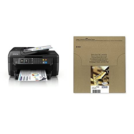 Epson WorkForce WF-2760DWF - Impresora multifunción 4 en 1 ...
