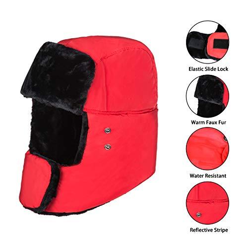 Cappello invernale unisex con paraorecchie 0dec8d70b0de