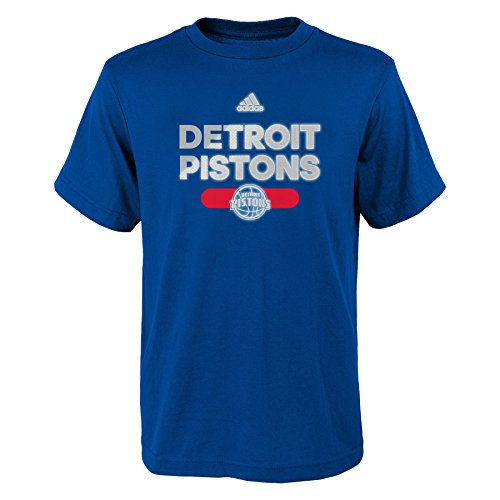 Royal Blue Detroit Pistons T-shirt - 1