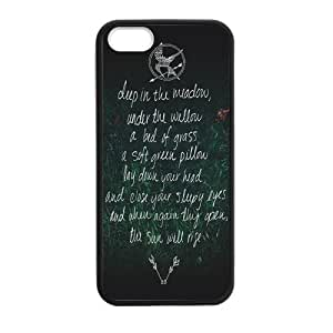 Custom Hunger Game New Laser Technology Back Cover Case for iPhone 5 5S CLT978