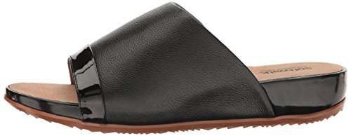 SoftWalk Women's Del Mar Wedge Slide Sandal, Black, 9 M US by SoftWalk (Image #5)
