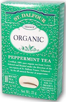 St Dalfour Peppermint Tea - Black TeaPeppermint 25 Ct 6 Packes - St Dalfour