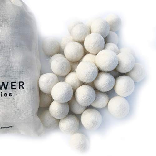 Which is the best white felt balls large?