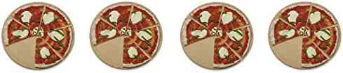 Old Stone Oven Round Pizza Stone (4-(Pack))