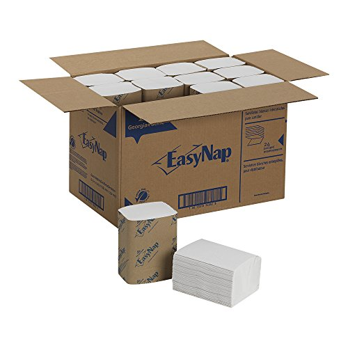 EasyNap 32002 9.85'' Length, 6.50'' Width Embossed Dispenser Napkin (24 packs of 250) by EasyNap