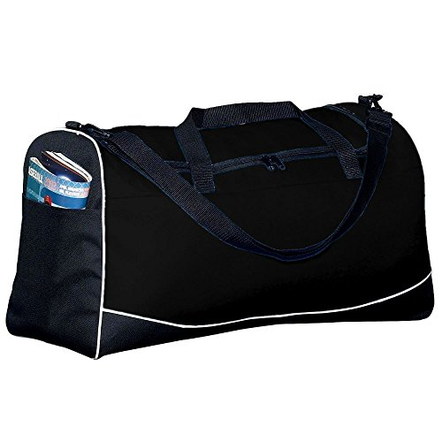 Large Tri-Color Sport Bag - Black (Tri Sport Color Bag)
