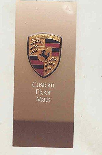 1980 Porsche 911 Custom Floormat Brochure