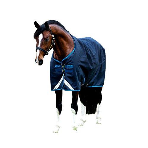 Horseware Amigo Bravo12 Turnout 100g 81 Navy/Blue (Navy Blue Horse Blanket)