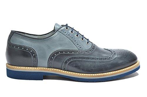 Nero Giardini Francesine scarpe uomo blu 4842 elegante P704842U