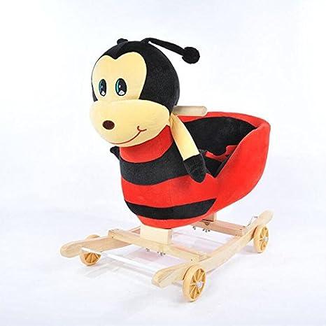 Balancín de Animal con ruedas Para Niño mecedora silla mecedora de juguete especial para niños,