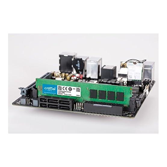 Crucial 32GB Kit (16GBx2) DDR4 2666 MT/s (PC4-21300) DR x8 DIMM 288-Pin Memory - CT2K16G4DFD8266