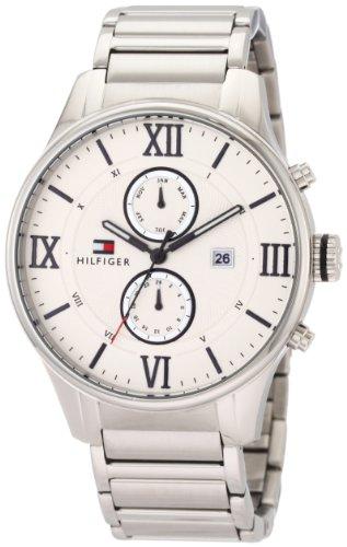 Multi Eye Stainless Steel Watch (Tommy Hilfiger Men's 1710289 Classic Stainless Steel Multi Eye Watch)