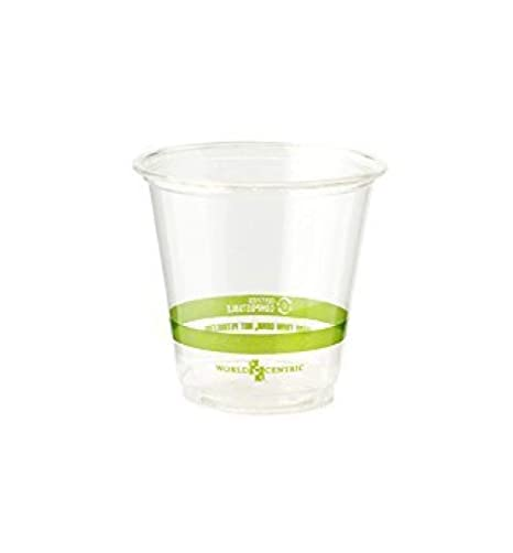 World Centric de 100% biodegradable, 100% compostable 3 oz maíz ...