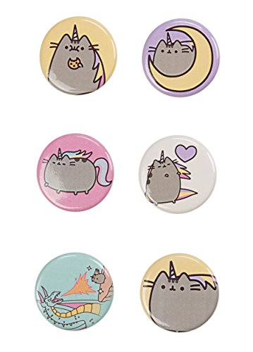 Pusheen The Cat 6 Button Set